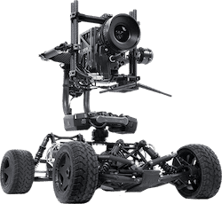 New Orleans Louisiana tero and rc car for film and tv